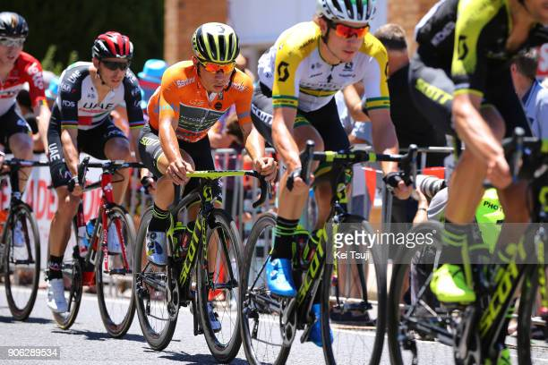 20th Santos Tour Down Under 2018 / Stage 3 Caleb EWAN Orange Leader Jersey / Colley Tce Glenelg The Esplanade Victor Harbor / Race shortened due to...