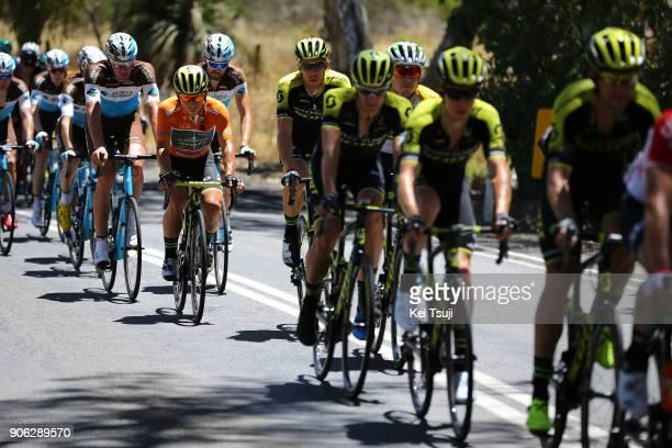 20th Santos Tour Down Under 2018 / Stage 3 Caleb EWAN Orange Leader Jersey / Mathew HAYMAN / Alexander EDMONDSON / Daryl IMPEY / Cameron MEYER /...