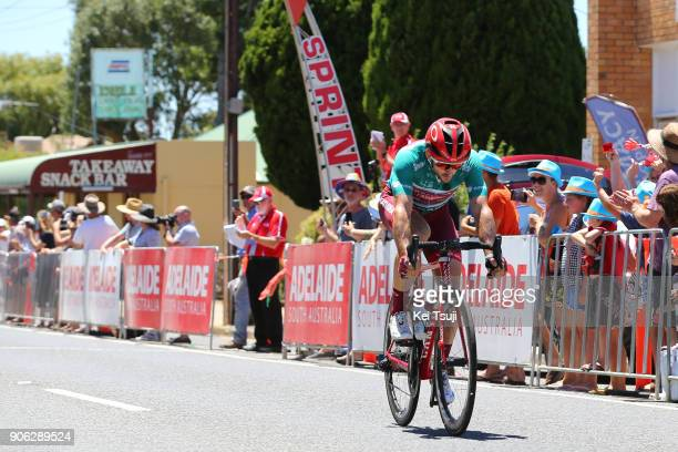 20th Santos Tour Down Under 2018 / Stage 3 Nathan HAAS Green Sprint Jersey / Colley Tce Glenelg The Esplanade Victor Harbor / Race shortened due to...