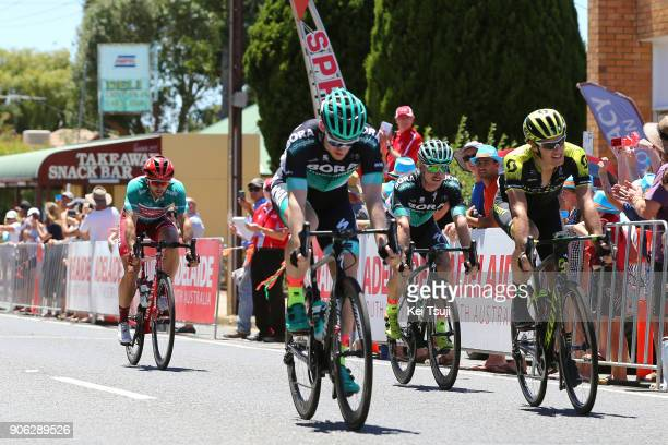 20th Santos Tour Down Under 2018 / Stage 3 Sam BENNETT / Daryl IMPEY / Colley Tce Glenelg The Esplanade Victor Harbor / Race shortened due to high...