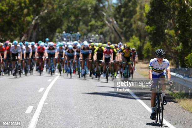 20th Santos Tour Down Under 2018 / Stage 3 Scott BOWDEN / Colley Tce Glenelg The Esplanade Victor Harbor / Race shortened due to high temperatures /...