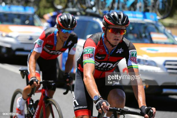 20th Santos Tour Down Under 2018 / Stage 3 Simon GERRANS / Richie PORTE / Colley Tce Glenelg The Esplanade Victor Harbor / Race shortened due to high...