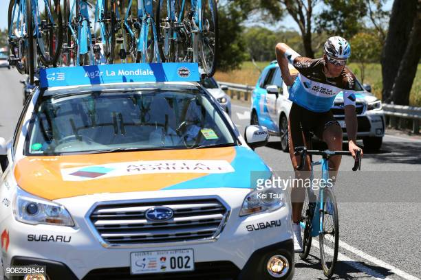 20th Santos Tour Down Under 2018 / Stage 3 Stijn VANDENBERGH / Colley Tce Glenelg The Esplanade Victor Harbor / Race shortened due to high...