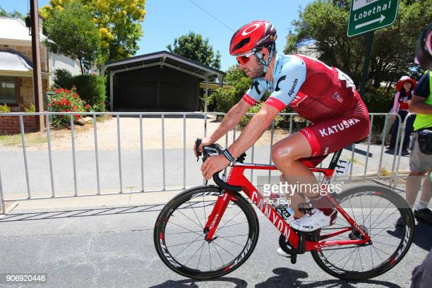 20th Santos Tour Down Under 2018 / Stage 4 Arrival / Nathan HAAS / The Parade Norwood Greenhill Road Uraidla / Men / TDU /