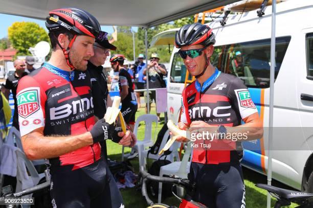20th Santos Tour Down Under 2018 / Stage 4 Arrival / Richie PORTE / Danilo WYSS / The Parade, Norwood - Greenhill Road, Uraidla / Men / TDU /
