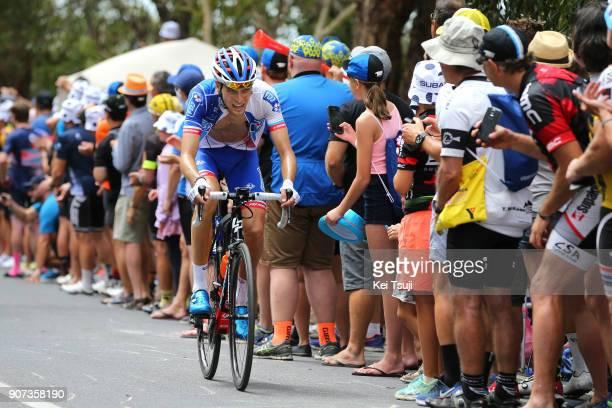 20th Santos Tour Down Under 2018 / Stage 5 Georg PREIDLER / Main Road McLaren Vale Brookman Road Willunga Hill 382m / Men / TDU /