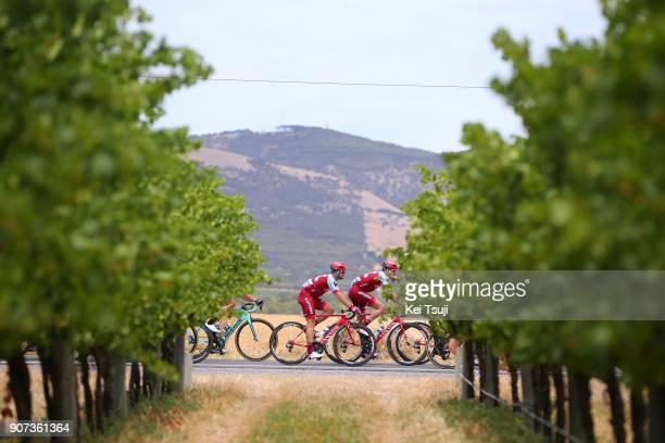 20th Santos Tour Down Under 2018 / Stage 5 Nathan HAAS / Main Road McLaren Vale Brookman Road Willunga Hill 382m / Men / TDU /