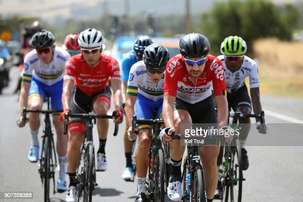 20th Santos Tour Down Under 2018 / Stage 5 Thomas DE GENDT / Nickolas DLAMINI Polka Dot Mountain Jersey / Fumiyuki BEPPU / Main Road McLaren Vale...