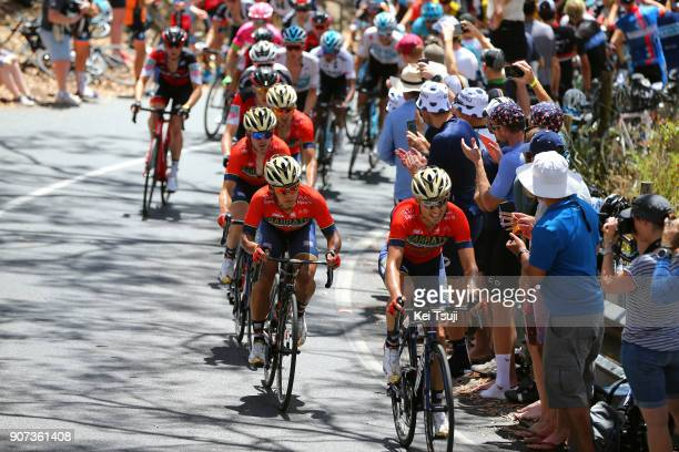 20th Santos Tour Down Under 2018 / Stage 5 Valerio AGNOLI / Yukiya ARASHIRO / Gorka IZAGIRRE / Ion IZAGIRRE / Main Road McLaren Vale Brookman Road...