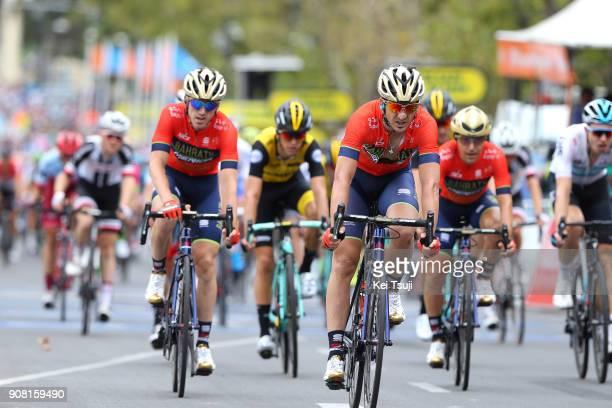20th Santos Tour Down Under 2018 / Stage 6 Arrival / Ion IZAGIRRE / Gorka IZAGIRRE / King William Street Adelaide King William Street Adelaide / Men...