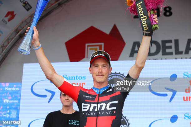 20th Santos Tour Down Under 2018 / Stage 6 Podium / Rohan DENNIS Best South Australia Rider / Celebration / King William Street Adelaide King William...