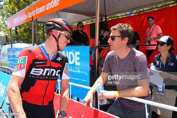 20th Santos Tour Down Under 2018 / Stage 6 Start / Rohan DENNIS / Martin ELMIGER / King William Street Adelaide King William Street Adelaide / Men /...