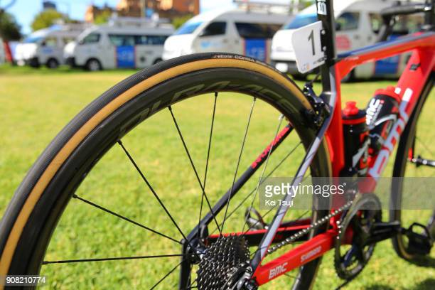 20th Santos Tour Down Under 2018 / Stage 6 Team BMC Racing / BMC Bike / Shimano Wheel / King William Street Adelaide King William Street Adelaide /...