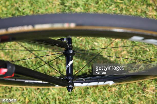 20th Santos Tour Down Under 2018 / Stage 6 Team EF Education FirstDrapac p/b Cannondale / Cannondale Bike / Vision Wheel / King William Street...