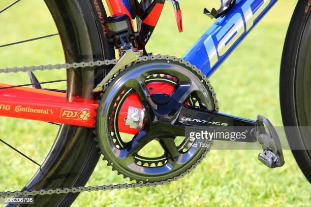 20th Santos Tour Down Under 2018 / Stage 6 Team FDJ / Lapierre Bike / Shimano Power Meter / King William Street Adelaide King William Street Adelaide...