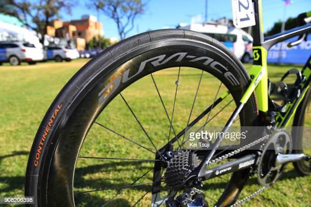 20th Santos Tour Down Under 2018 / Stage 6 Team MitcheltonScott / Scott Bike / Shimano Wheel / King William Street Adelaide King William Street...