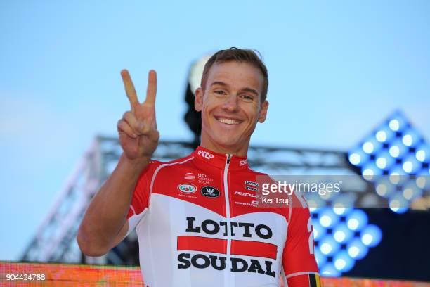 20th Santos Tour Down Under 2018 / Team Presentation Adam HANSEN / Adelaide Tour Village / Team Presentation / TDU /
