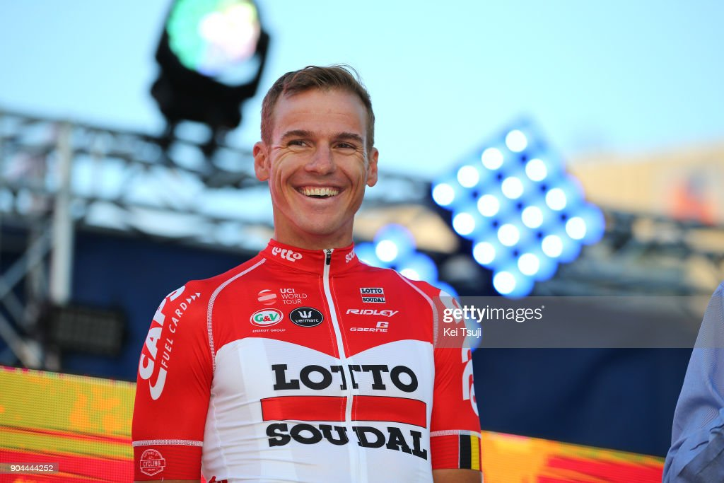 20th Santos Tour Down Under 2018 / Team Presentation Adam HANSEN (AUS)/ Adelaide Tour Village / Team Presentation / TDU /