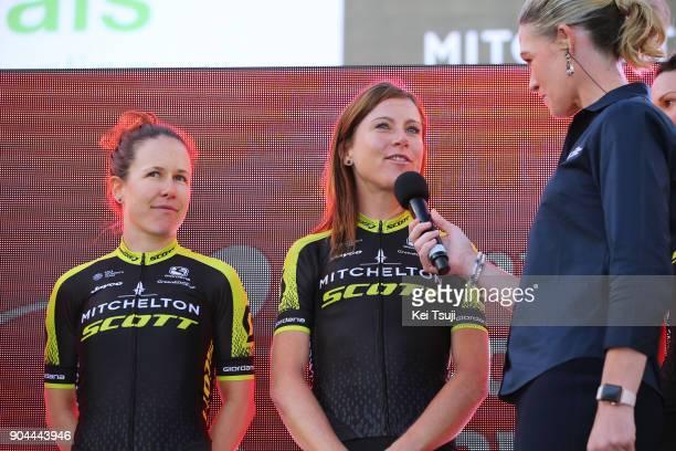 20th Santos Tour Down Under 2018 / Team Presentation Amanda SPRATT / Annemiek VAN VLEUTEN / Adelaide Tour Village / Women / Team Presentation / TDU /