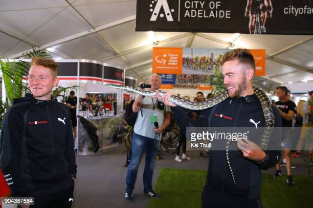 20th Santos Tour Down Under 2018 / Team Presentation Chris HAMILTON / Sam OOMEN / Snake / Adelaide Tour Village / Team Presentation / TDU /