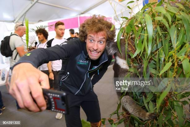 20th Santos Tour Down Under 2018 / Team Presentation Daniel OSS / Koala / Adelaide Tour Village / Team Presentation / TDU /