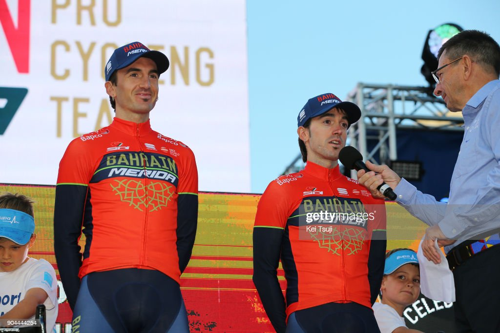 20th Santos Tour Down Under 2018 / Team Presentation Gorka IZAGIRRE (ESP)/ Ion IZAGIRRE (ESP)/ Adelaide Tour Village / Team Presentation / TDU /