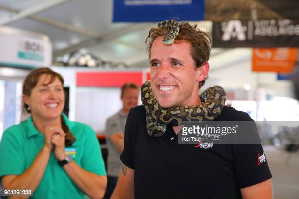 20th Santos Tour Down Under 2018 / Team Presentation Koen DE KORT / Snake / Adelaide Tour Village / Team Presentation / TDU /