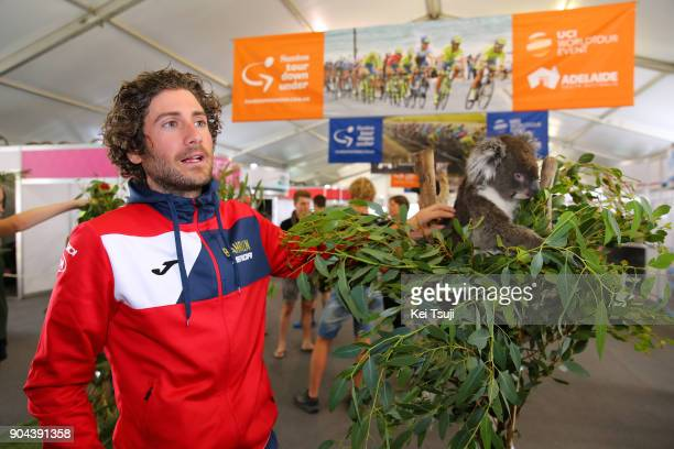 20th Santos Tour Down Under 2018 / Team Presentation Manuele BOARO / Koala / Adelaide Tour Village / Team Presentation / TDU /