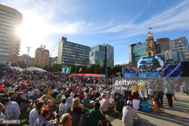 20th Santos Tour Down Under 2018 / Team Presentation Public / Victoria Square / Adelaide Tour Village / Team Presentation / TDU /