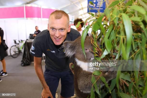 20th Santos Tour Down Under 2018 / Team Presentation Robert GESINK / Koala / Adelaide Tour Village / Team Presentation / TDU /