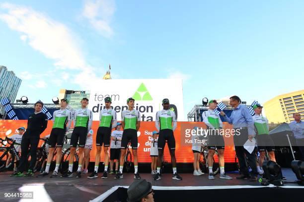 20th Santos Tour Down Under 2018 / Team Presentation Team Dimension Data / TomJelte SLAGTER / Mark RENSHAW / Nickolas DLAMINI / Lachlan MORTON / Jaco...