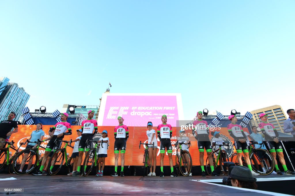 2017 Tour Down Under - Team Presentation