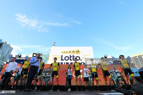 20th Santos Tour Down Under 2018 / Team Presentation Team LottoNLJumbo / Robert GESINK / Robert WAGNER / Enrico BATTAGLIN / Daan OLIVIER / George...