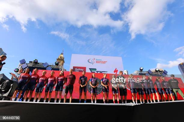 20th Santos Tour Down Under 2018 / Team Presentation Team Specialized Women's Racing / Kate MCILROY / Sharlotte LUCAS / Ashlee ANKUDINOFF / Ella...