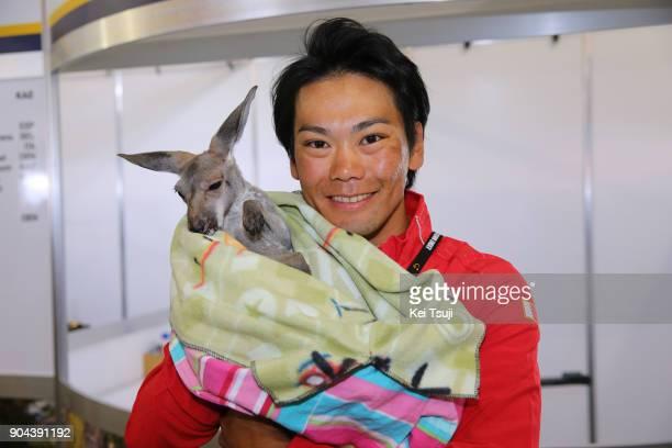 20th Santos Tour Down Under 2018 / Team Presentation Yukiya ARASHIRO / Kangaroo / Adelaide Tour Village / Team Presentation / TDU /