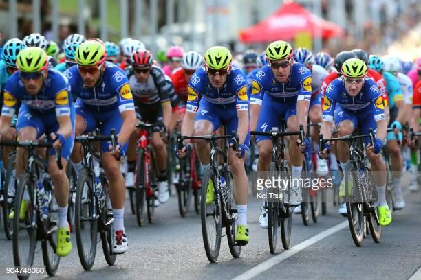 20th Santos Tour Down Under People's Choice Classic 2018 Michael MORKOV / Elia VIVIANI / Fabio SABATINI / Team QuickStep Floors / Wakefield Road...