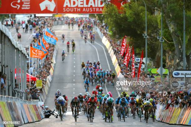 20th Santos Tour Down Under People's Choice Classic 2018 Arrival / Sprint / Peter SAGAN / Andre GREIPEL / Caleb EWAN / Elia VIVIANI / Wakefield Road...
