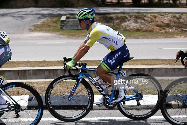20th Tour Langkawi 2015/ Stage 5 EWAN Caleb Yellow Leader Jersey/ Kuala Terengganu Kuantan / Ronde etape rit/ Malaysia/ Tim De Waele