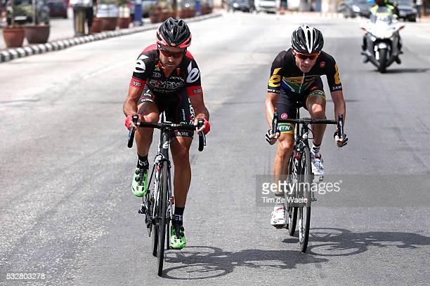 20th Tour Langkawi 2015/ Stage 5 MANCEBO Francisco / JANSE VAN RENSBURG Jacques / Escape/ Kuala Terengganu Kuantan / Ronde etape rit/ Malaysia/ Tim...