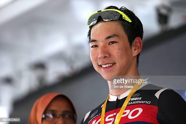 20th Tour Langkawi 2015/ Stage 5 Podium/ SEO Joon Yong Celebration Joie Vreugde/ Kuala Terengganu Kuantan / Ronde etape rit/ Malaysia/ Tim De Waele