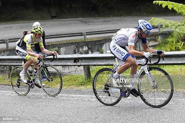21th Tour Langkawi 2016/ Stage 4 JARAMILLO DIEZ Daniel Alexa / AMEZQUETA MORENO Julen / Ipoh Cameron Highlands / Rond etape rit / Malaysia/ Tim De...