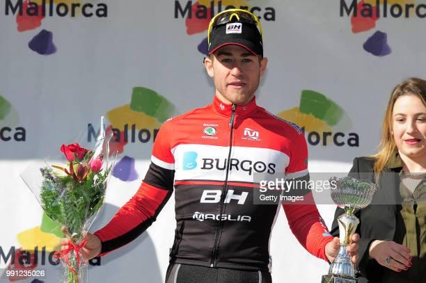 22Th Tour Of Mallorca 2014 Stage 4Podium/ Juan Carlos Riutort Celebration Joie Vreugde MuroPort D'Alcudia / Trofeo Mallorca/ Etape Rit/ Majorca/ Tim...
