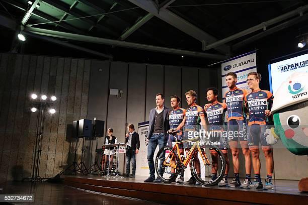 24th Japan Cup 2015/ Team Presentation Team Nippo Vini fantini / Ploegenpresentatie/ Tim De Waele