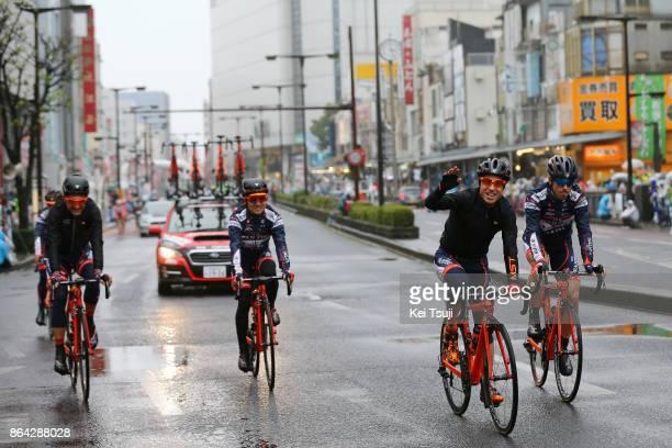 26th Japan Cup 2017 / Criterium Start / Team NIPPO Vini Fantini / Damiano CUNEGO / Marco CANOLA / Alan MARANGONI / Hideto NAKANE / Utsunomiya -...