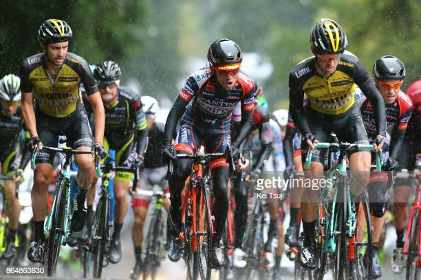 26th Japan Cup 2017 Cycle Road Race 2017 Alexey VERMEULEN / Juan Jose LOBATO DEL VALLE / Hideto NAKANE / Utsunomiya - Utsunomiya / Race shortened due...