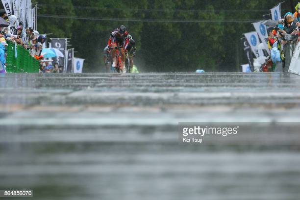 26th Japan Cup 2017 Cycle Road Race 2017 Arrival / Sprint / Marco CANOLA / Utsunomiya - Utsunomiya / Race shortened due to bad weather / Utsunomiya -...