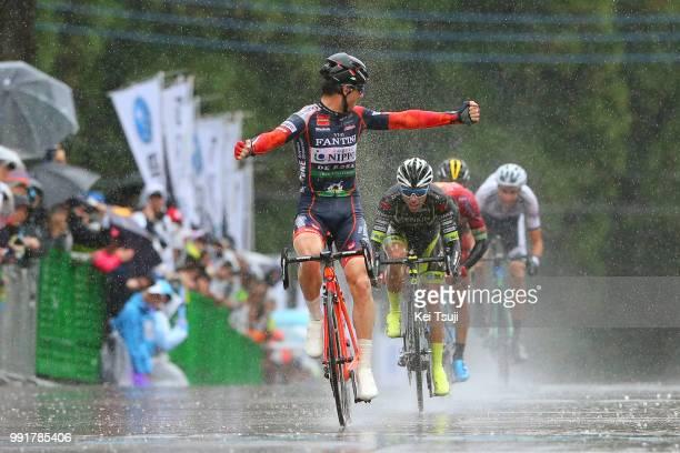 26Th Japan Cup 2017 Cycle Road Race 2017 Arrival, Sprint, Marco Canola / Takeaki Amezawa / Benjamin Prades Reverter / Antwan Tolhoek / Thomas Lebas /...