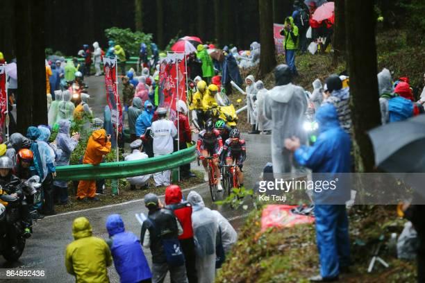 26th Japan Cup 2017 Cycle Road Race 2017 Marco CANOLA / Ivan SANTAROMITA / Utsunomiya - Utsunomiya / Race shortened due to bad weather / Utsunomiya -...