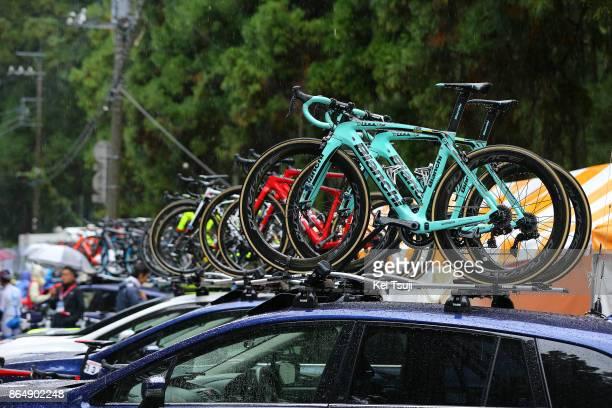26th Japan Cup 2017 Cycle Road Race 2017 Start / Team Lotto NL Jumbo / Bianchi Bike / Utsunomiya Utsunomiya / Race shortened due to bad weather /...