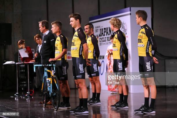 26th Japan Cup 2017 / Team Presentation Team Lotto NL Jumbo / Enrico BATTAGLIN / Koen BOUWMAN / Alexey VERMEULEN / Juan Jose LOBATO DEL VALLE /...